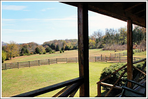 This Cabin Sits On Over 50 Acres. It Has A Very Steep And Winding Driveway  That Leads Up To A Gorgeous View Of The Tennessee Countryside.