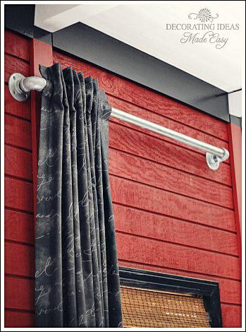 Modern Window treatment ideas from Jennifer Decorates.com