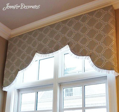 window valance styles diy window valance ideas from jenniferdecoratescom valance ideas jennifer decorates