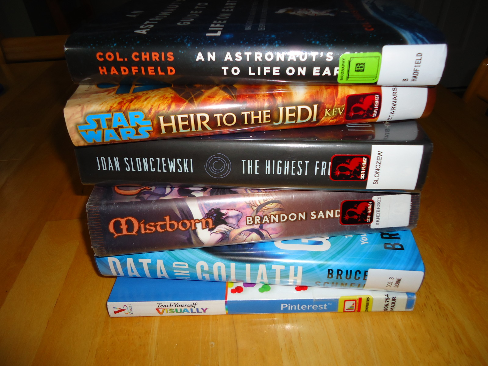 Library Stack 3/13/15