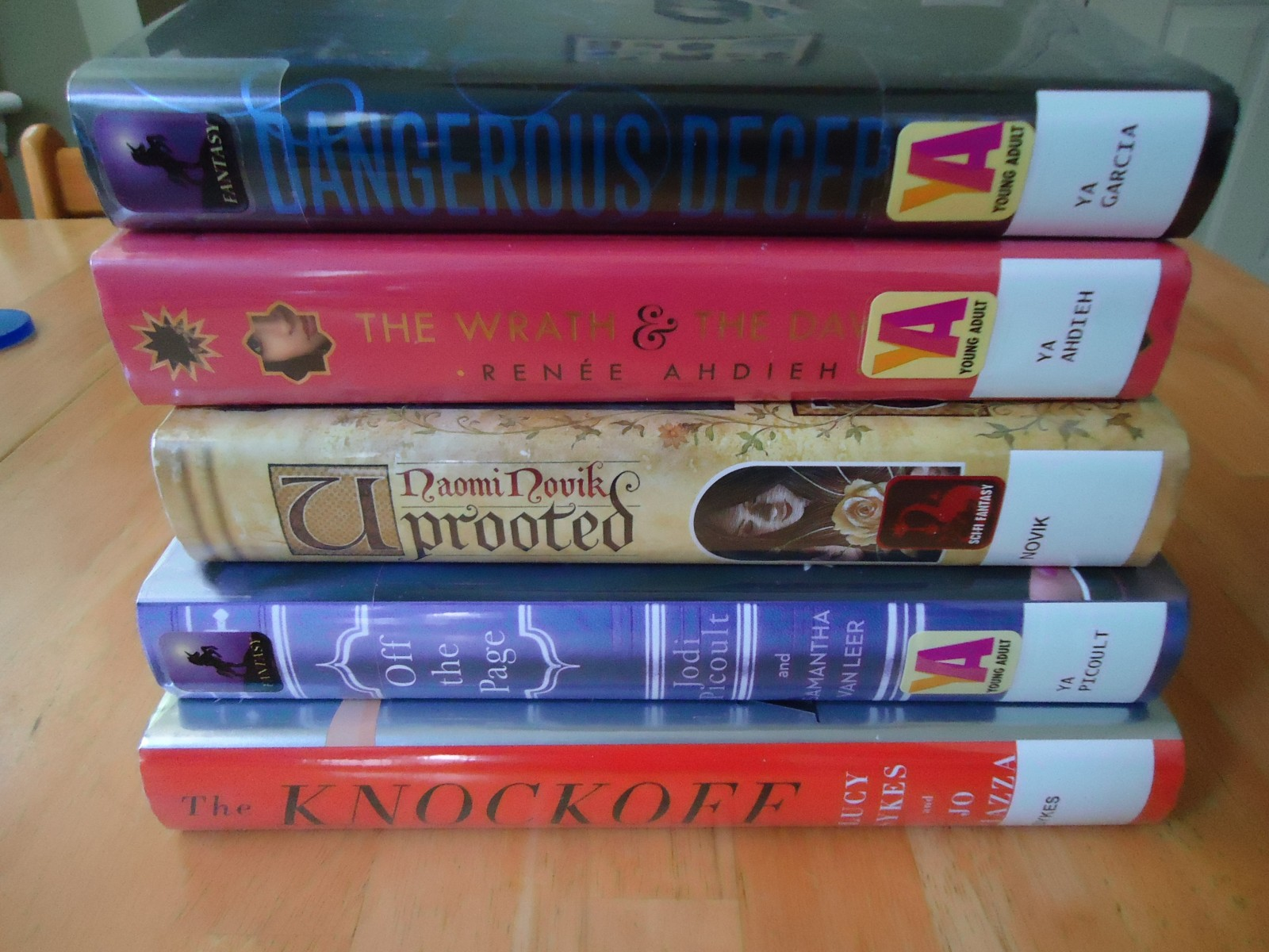 Library Haul 5/29/15