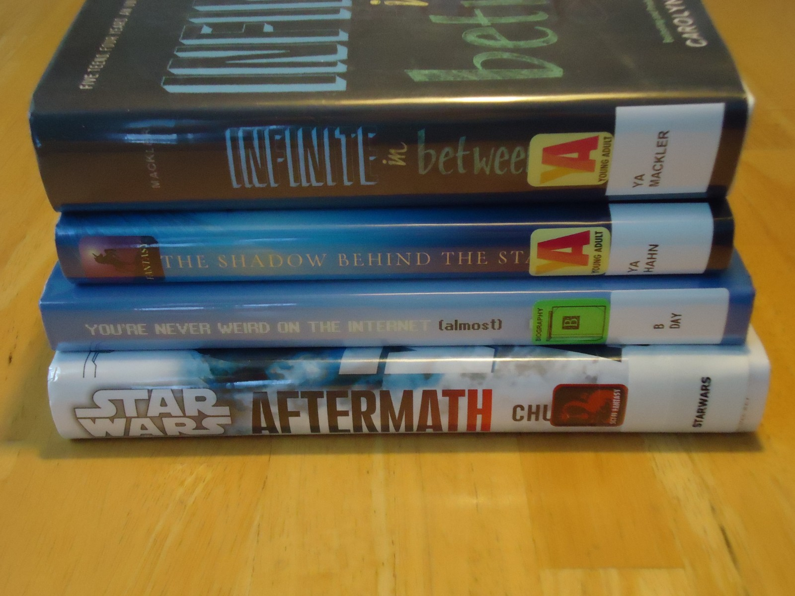 Library Haul & Reading List 9/18/15