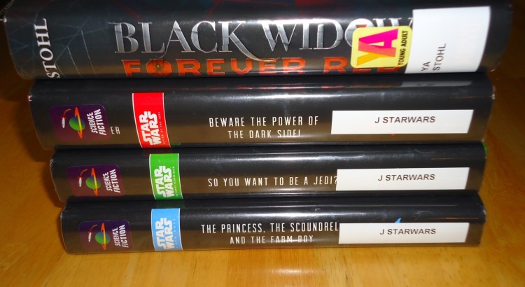 Library Haul and Reading List 1/01/16