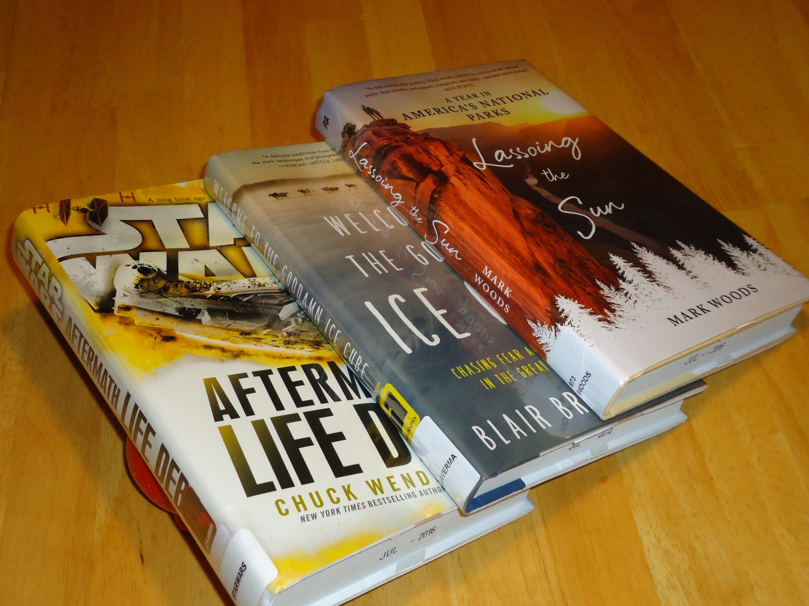 Library Haul & Reading List 07/22/16