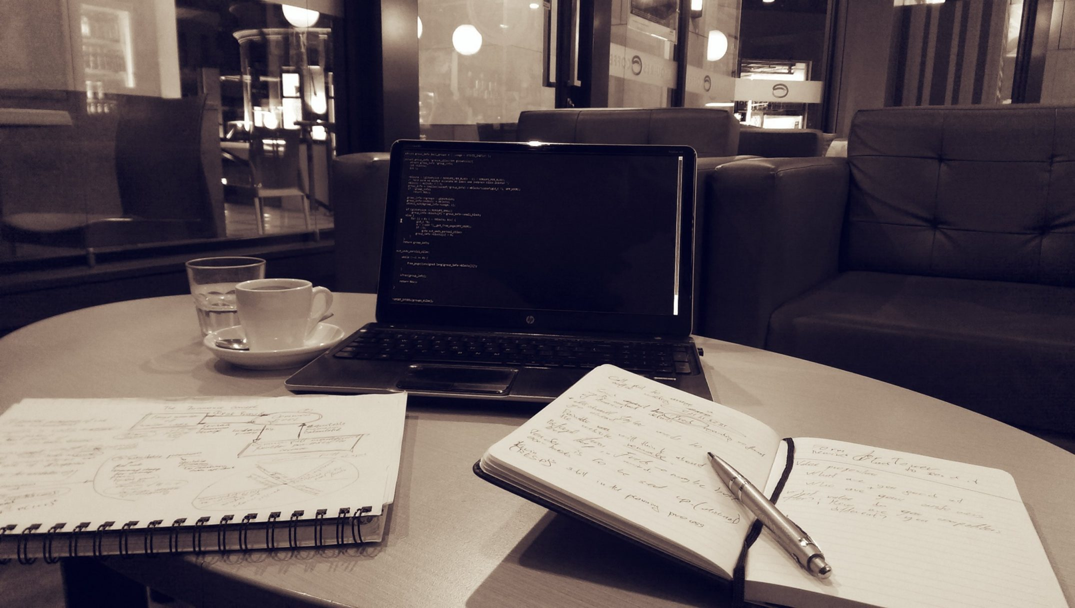 NaNoWriMo Coffee Shop