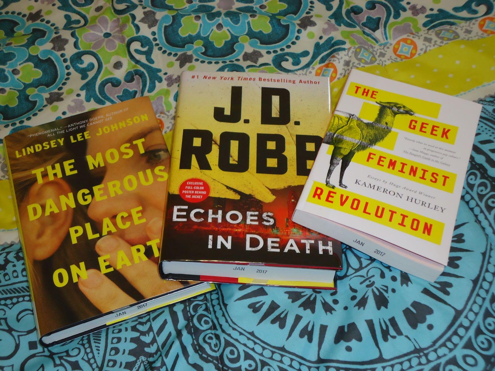 Library Haul & Reading List 02/10/17