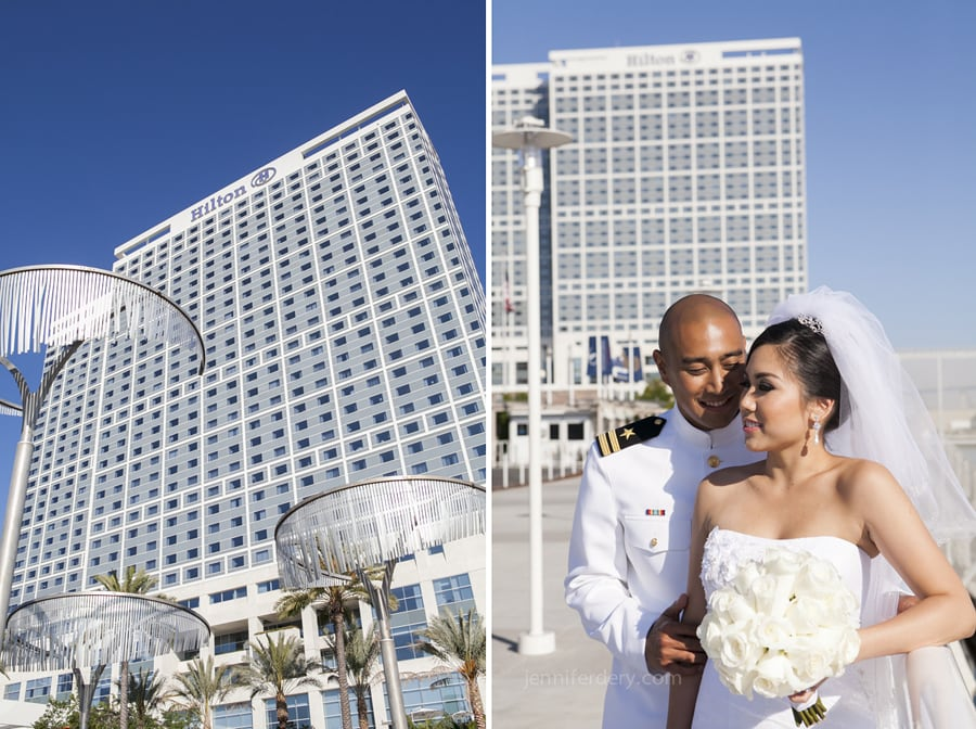 San Diego Hilton Bayfront Wedding Photos – Sharon & Leo