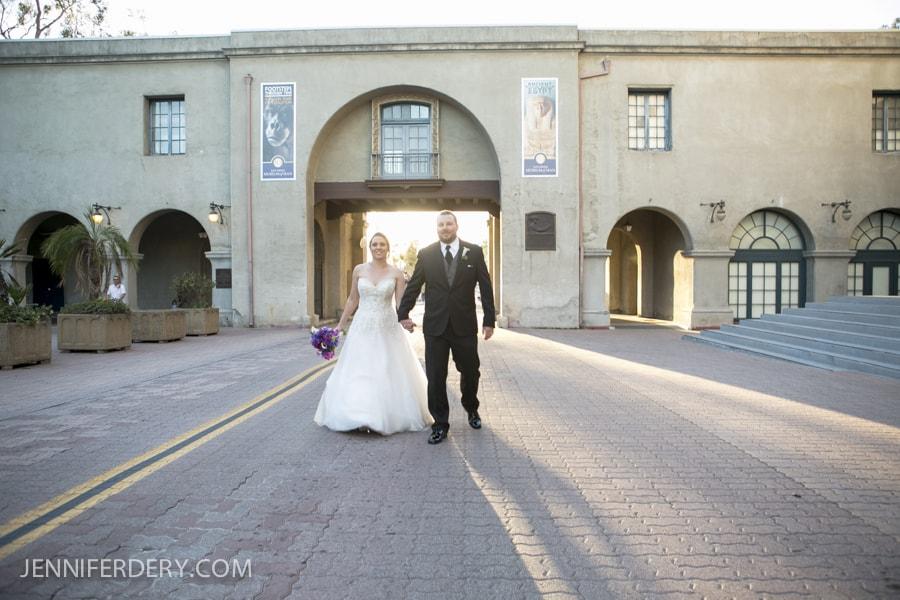 """Celeste and Charles Say """"I Do"""" at the Prado in Balboa Park"""