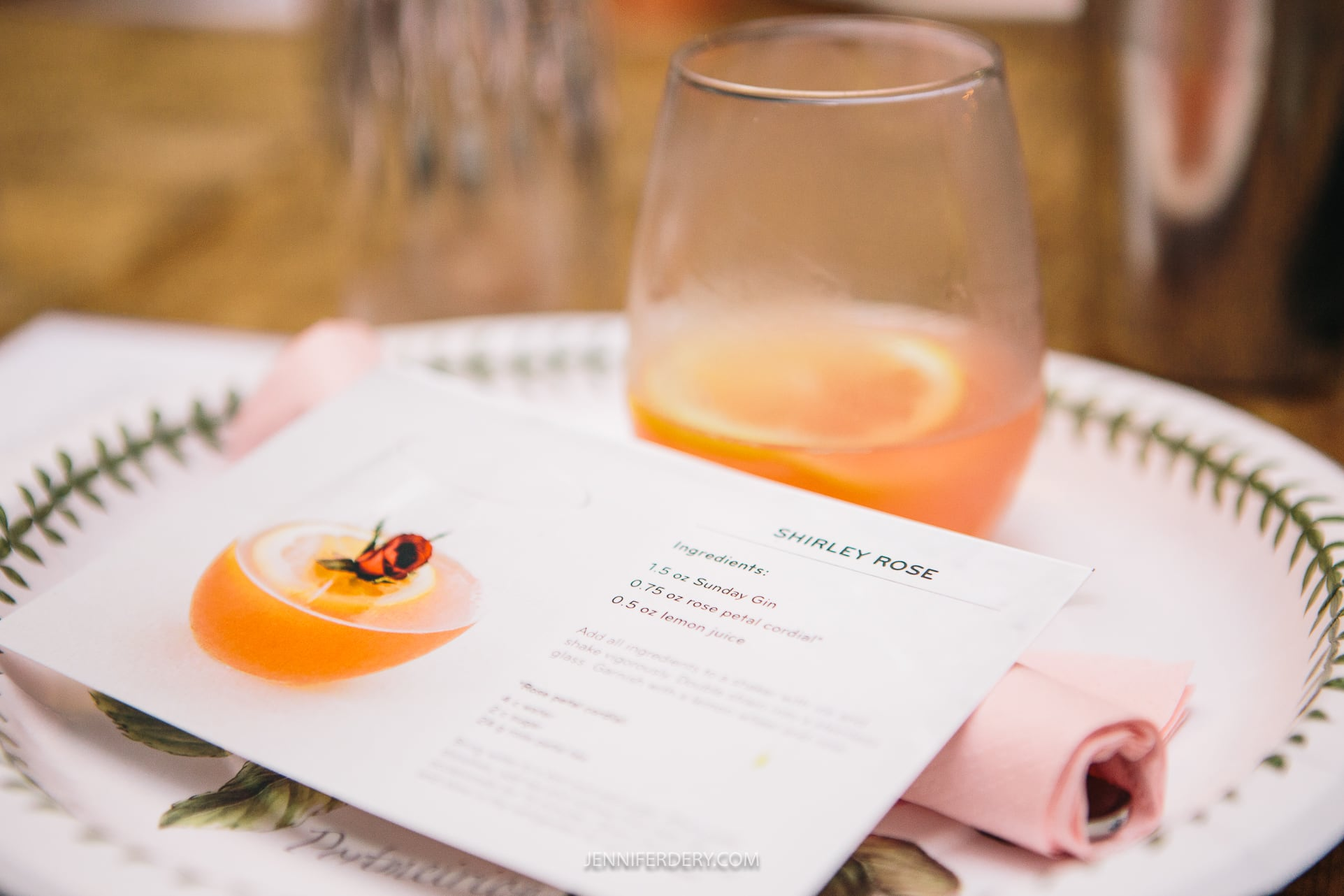 A Valentine Themed Cooking & Cocktail Class