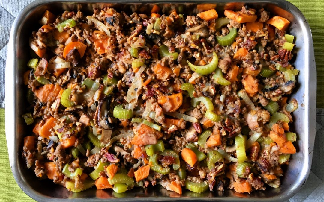 Thanksgiving Stuffing Paleo Style