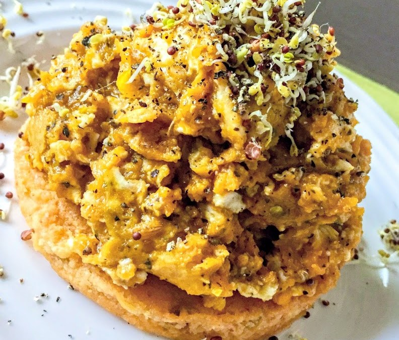 Scrambled Squash (Low-Carb, High-Fiber, Paleo)