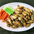 Salt & Vinegar Chicken Wings Keto Paleo Gluten Free
