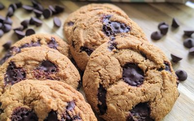 Paleo Chocolate Chip Cookies (Gluten, Grain & Dairy Free)