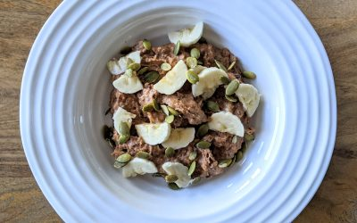 Grain Free Oatmeal (Paleo, Low-Carb)