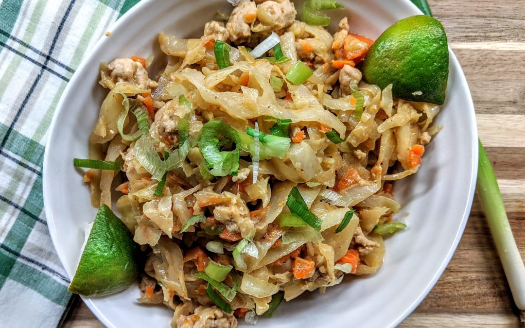 Egg Roll in a Bowl (Soy Free, Low-Carb, Paleo )