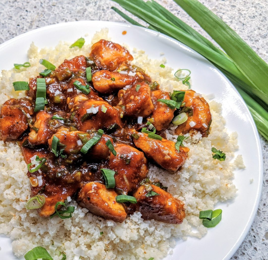 Chang's Spicy Chicken (Gluten & Soy Free, Paleo)