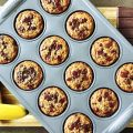 Chocolate Chunk Banana Muffins (Gluten and Grain Free, Paleo)
