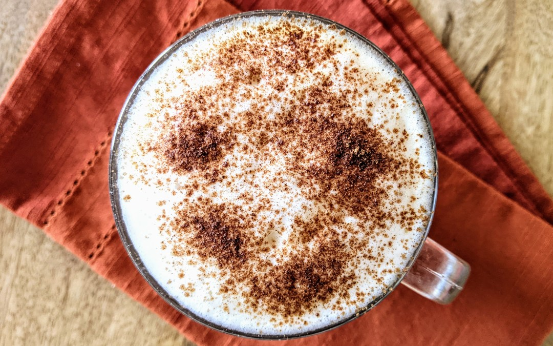 Pumpkin Spice Latte (Dairy Free, Plant-Based, Paleo)