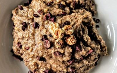 "Tiger Nut ""NOatmeal"" (Nut & Grain Free, Paleo)"
