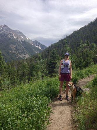 spanish creek trail running picture
