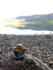 rock cairn glacier park