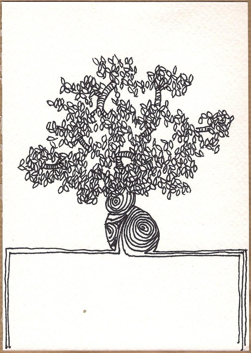 Serie Disegni 12 Alberi #01