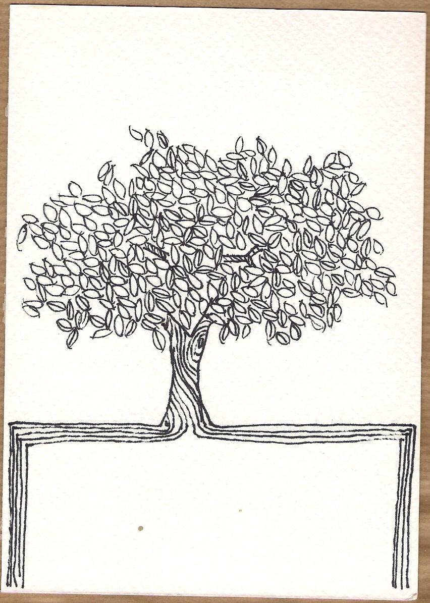 Serie Disegni 12 Alberi #03