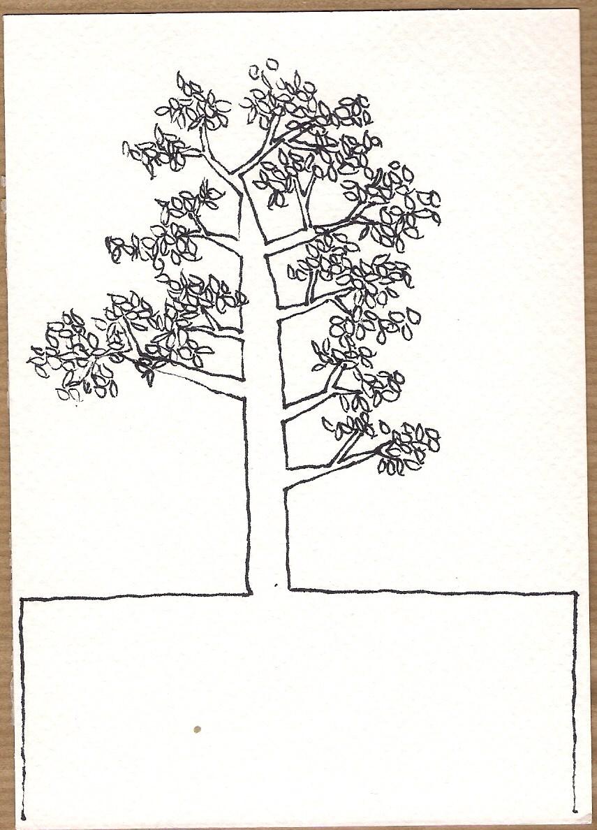 Serie Disegni 12 Alberi #06