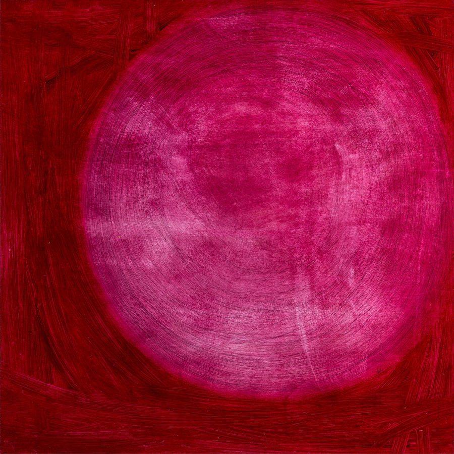 PIENO VUOTO olio penna sfera dim 83×83 anno 2015