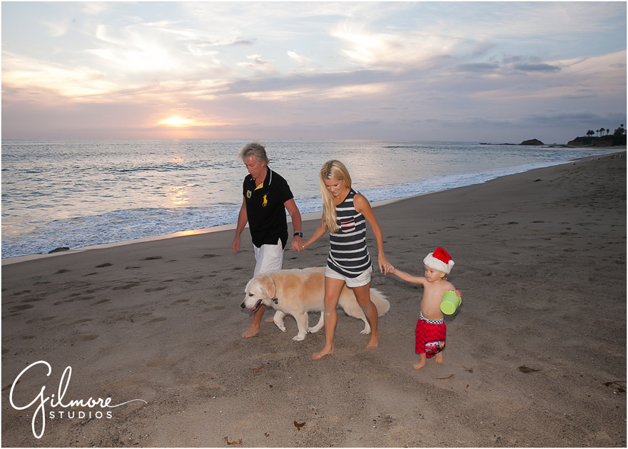Family Portrait Session At Aliso Creek Beach Laguna