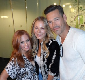 LeAnn and Eddie with Jenny