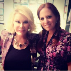 Interview with the great Joan Rivers.  She will be missed by everyone.
