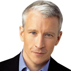 Anderson Cooper stops by Just Jenny show at SiriusXM!