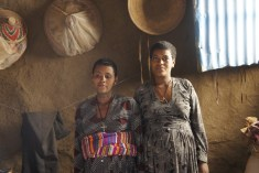 Two Expectant Mothers Who Live in Mosebo Village, Right Outside of Bahir Dar in Amhara Region