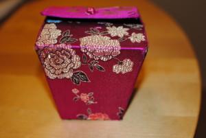 Asian gift box