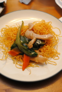 crispy chow mein
