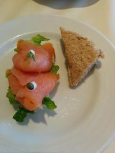 salmon sandwiches