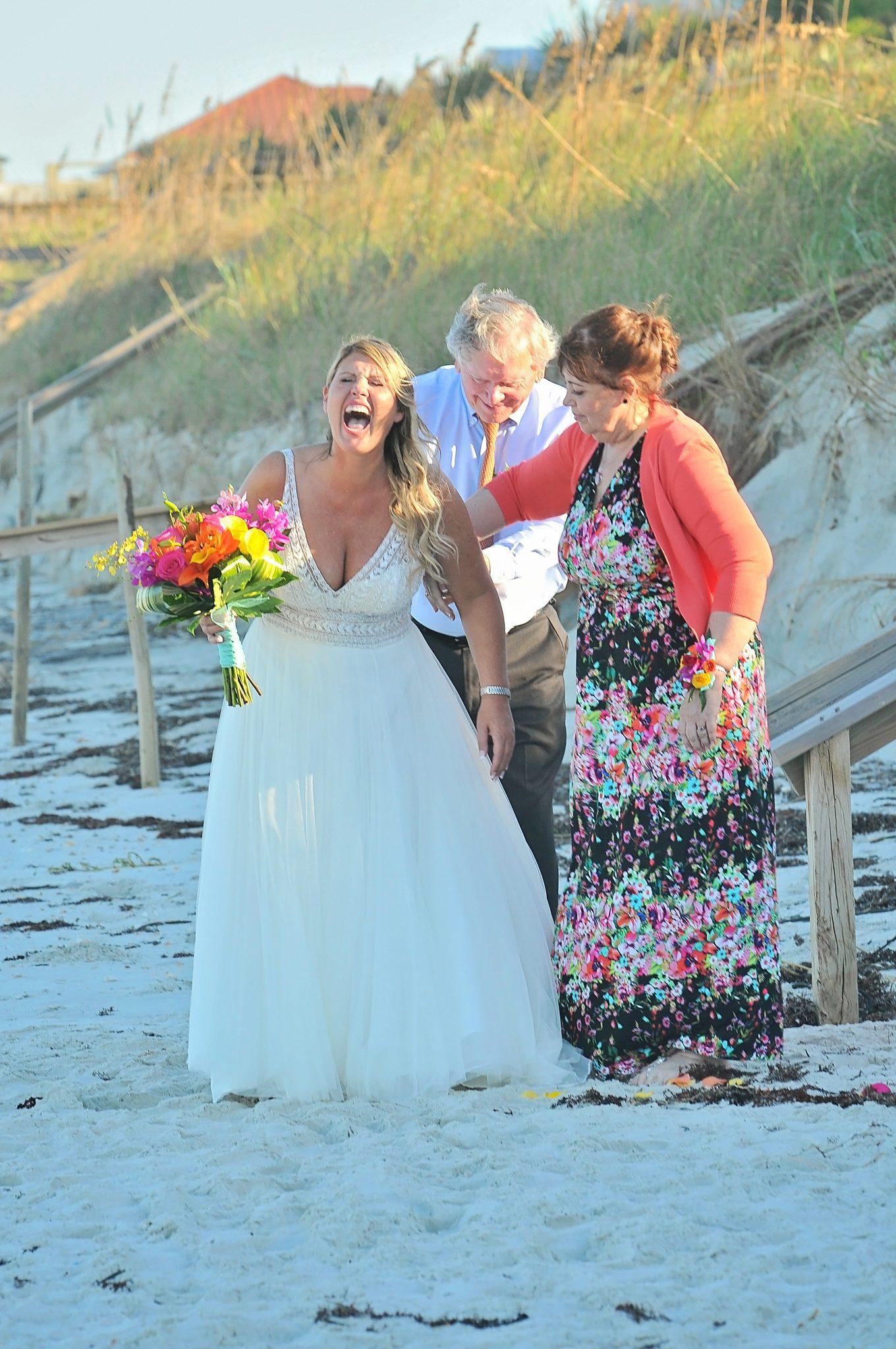 New Smyrna Beach Destination wedding