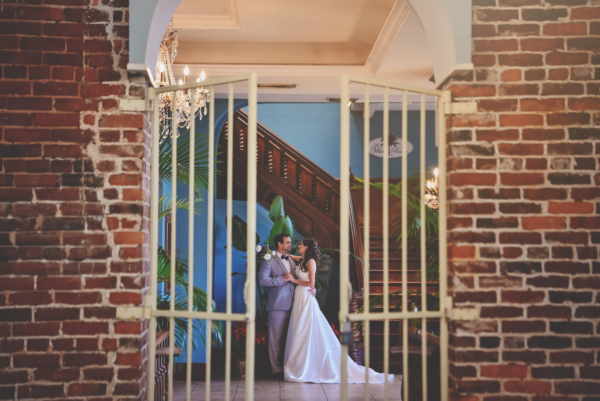 St Augustine White Room wedding