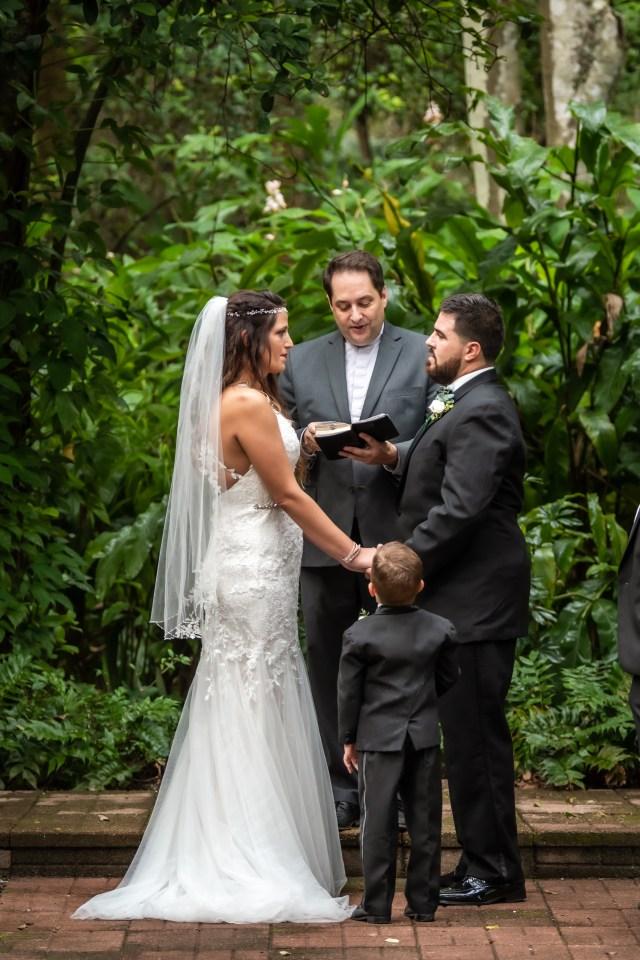 Wedding at Dunlawton Sugar Mill Gardens