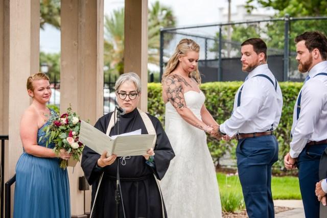 Wedding at the Casements Ormond Beach