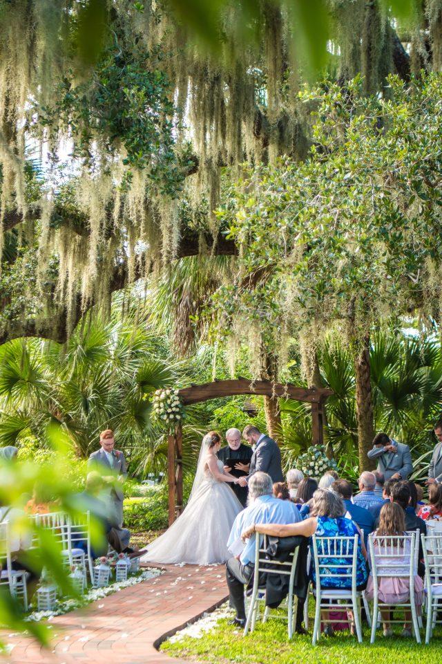 Beautiful Garden wedding in Florida