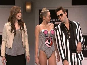 'Saturday Night Live' Shows Us Miley'll Probably Be Just Fine