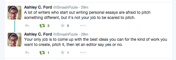 Personal Essays Are Hot, But Pitching Journalistic Pieces Is Nice Too