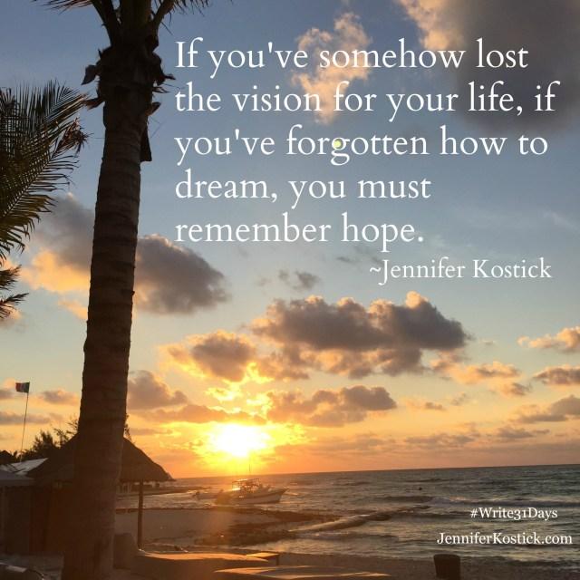 Stillness Requires Vision
