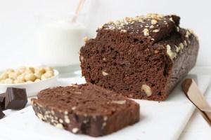 Chocolade Bananenbrood