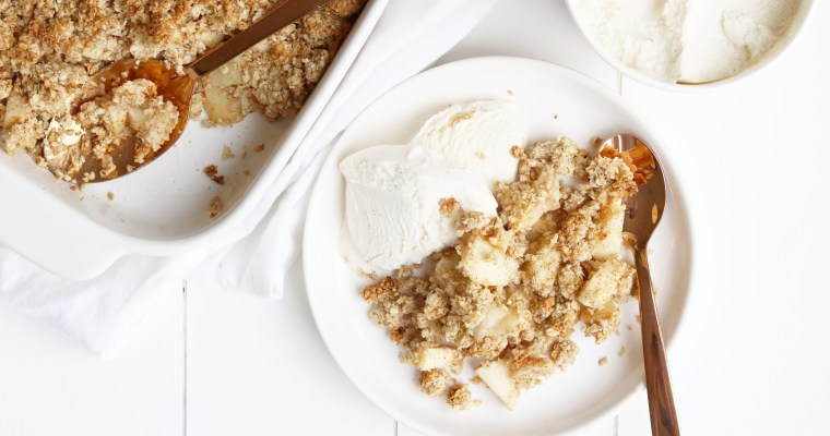 HEALTHY APPEL CRUMBLE