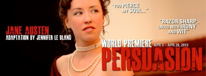 Persuasion at San Jose Stage Company