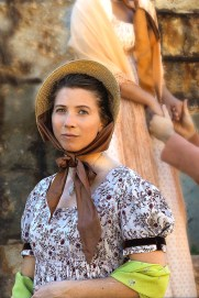 Anne in front of the Lower Cobb - Persuasion at Ross Valley Players 2014