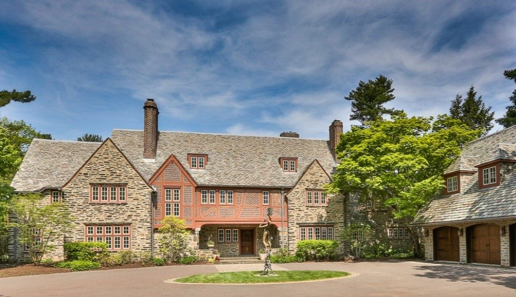 Villanova estate home on Philadelphia's Main Line
